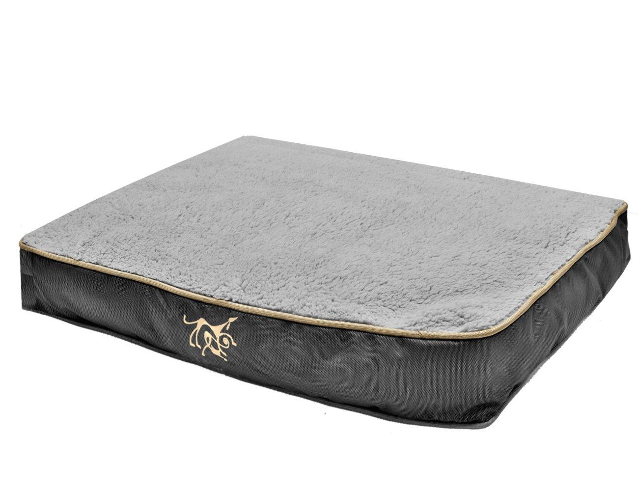 VADIGRAN Materasso Materasso Materasso sfoderabile nero Oxford 110 x 70 x 10 cm 6dbba5