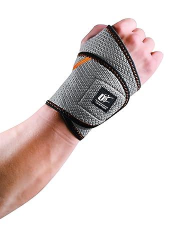 Adjustable Wrist Support (Single Pack, One Size) - Thumb Loop Design Wrist  Brace