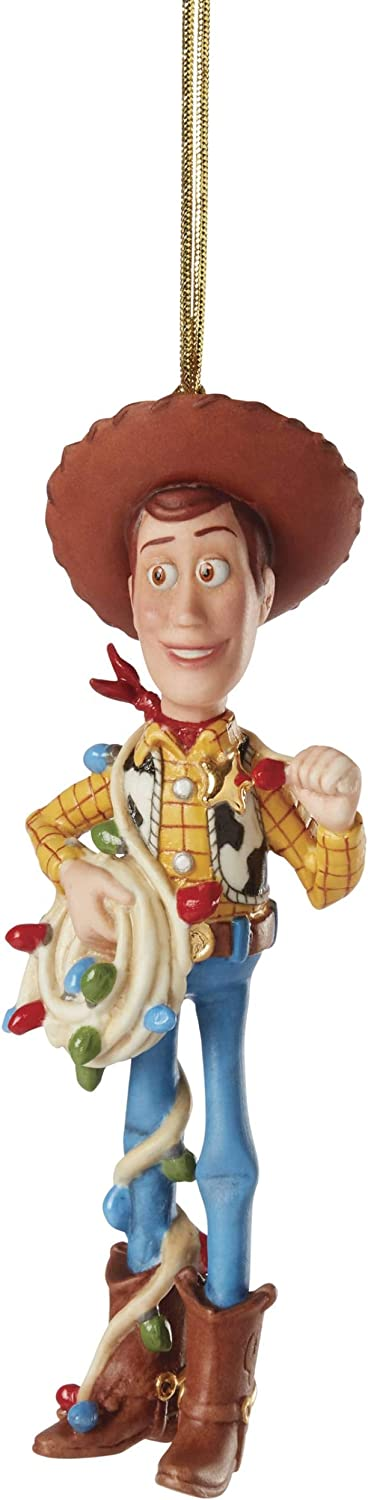 Lenox 886526 Disney Woody Christmas Cowboy Ornament
