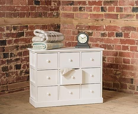 Home furniture piccola cassettiera in legno con cassettiera in