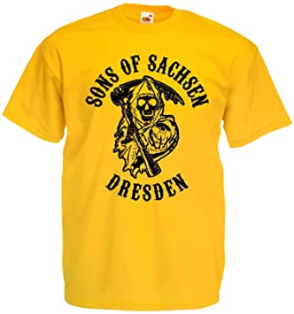 Sons of Sachsen Herren T-Shirt Dresden Ultras
