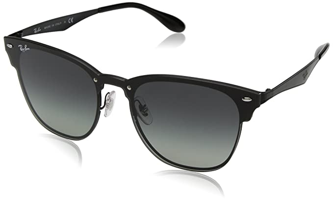 23d290de2 RAYBAN Unisex's 0RB3576N 153/11 47 Sunglasses, Demi Gloss Black /Greygradientdarkgrey