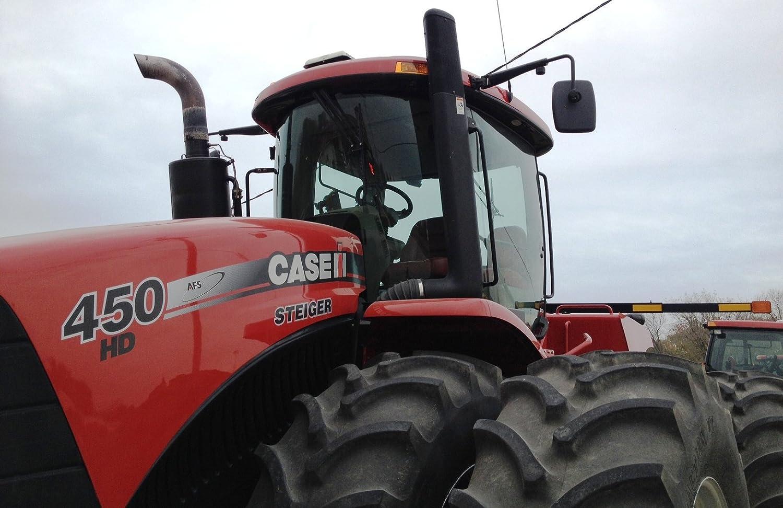 "Espejo de cristal de 12/"" X 9/"" Tractor Case IH Massey John Deere Ford New Holland Tractor"