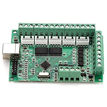 3 axis 3//4//6 Axis Mach3 USB CNC Stepper Motor Controller Card Smooth Motion USB Breakout Board CNC Motion Control Card Interface Board