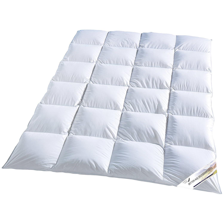 Betten aus deutschen Landen, Kassettendecke, 135 x 200 cm, Daunen & Federn, KBT, Made in Germany