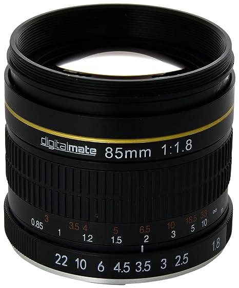 Review DigitalMate DM85MMN 85-85mm f/1.8-22