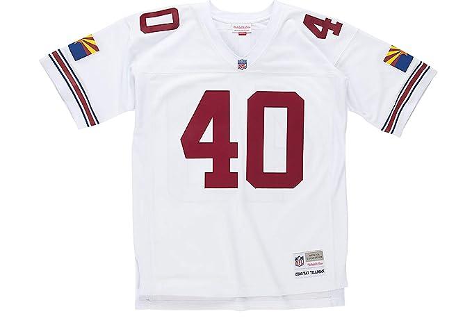 buy online 91ad3 daade Mitchell & Ness Pat Tillman Arizona Cardinals White Throwback Jersey