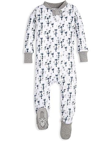 96a91ca06 Burt's Bees Baby Baby Boy's Unisex Pajamas, Zip-Front Non-Slip Footed  Sleeper. #1