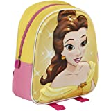 Disney 2100001673 28 cm Princess 3D Effect Beauty and the Beast Belle Children's Backpack