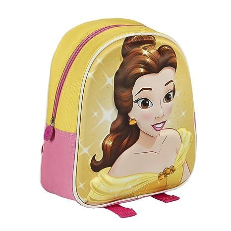 rivenditore di vendita 317e9 22104 Disney La Bella e la Bestia 2100-1673 Zaino 3D 28cm, bambino ...