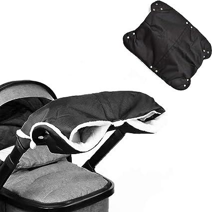 Pushchair /& Buggy Mitt Fleece Lined Glove Premium Pram Hand Muff Stroller