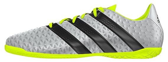new styles eb8c3 6ecff adidas Ace 16.4 IN Botas de fútbol, Hombre, Plata, 43 13 Amazon.es  Deportes y aire libre