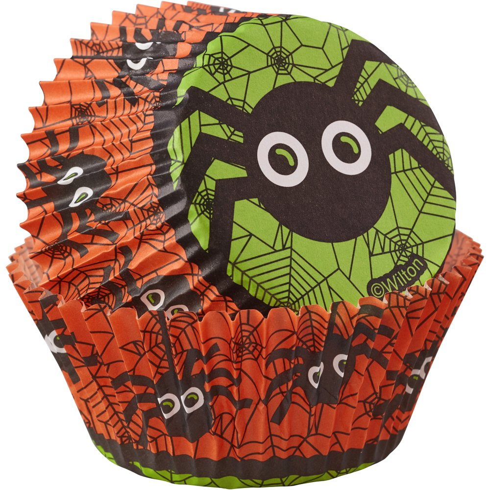 Wilton Spider Cupcake Liners, 75-Count