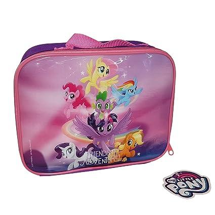 Fiambrera de My Little Pony Friendship Adventure!con aislamiento, bolsa para el almuerzo,