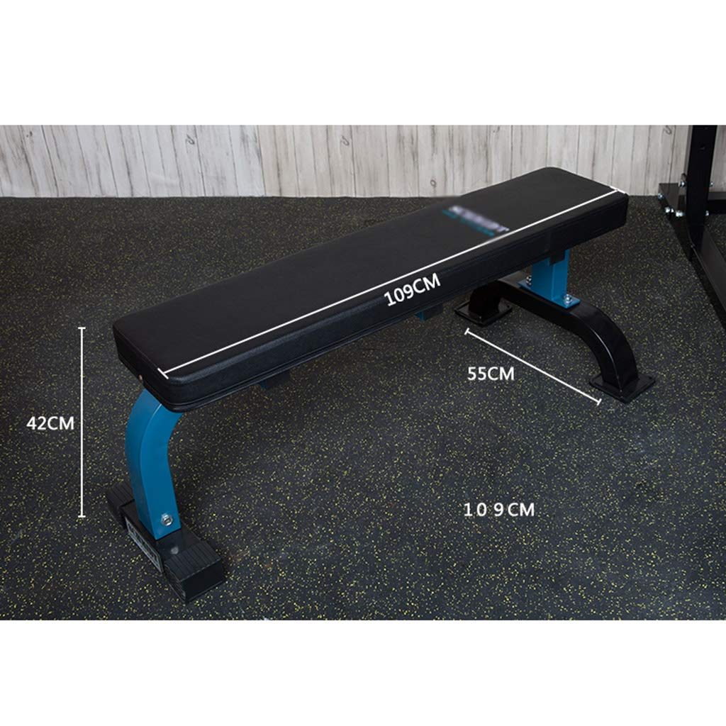 Amazon.com: Folding Weight Bench Commercial Dumbbell Bench Professional Bench Stool Flat Bench Supine Board Bird Bench Benches (Color : Black, ...