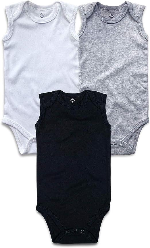 confezione da 3 pezzi OPAWO Body in cotone per neonati unisex
