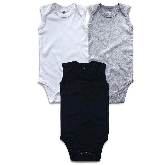 Amazon.com: OPAWO - Body unisex sin mangas para bebé ...