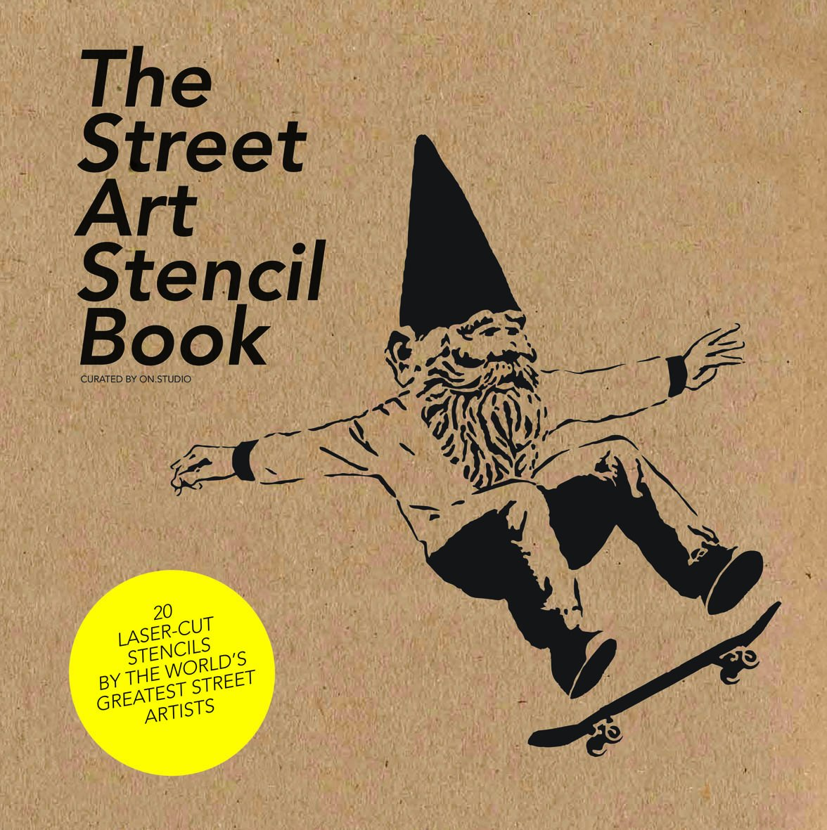 Stencil Graffiti Book
