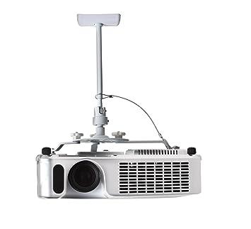 B-Tech BT881 - Soporte de techo para proyector, color blanco ...