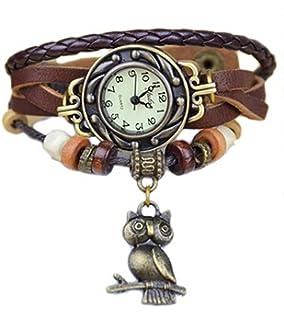 Mixe - Elegante Reloj de Pulsera de Bronce para Mujer, Estilo Bohemio, Estilo Vintage