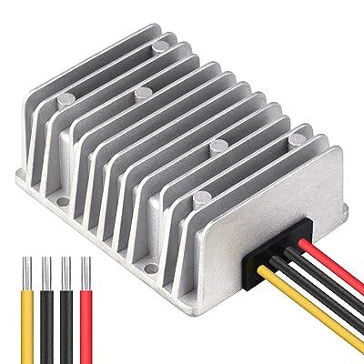Cllena DC 48V Step Down to 12V 30A 360W Voltage Reducer Converter, Waterproof DC/DC Buck Transformer Power Supply: Automotive