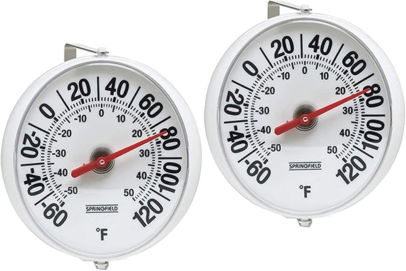Taylor Precision Products Springfield Big and Bold Thermometer with Mounting ...