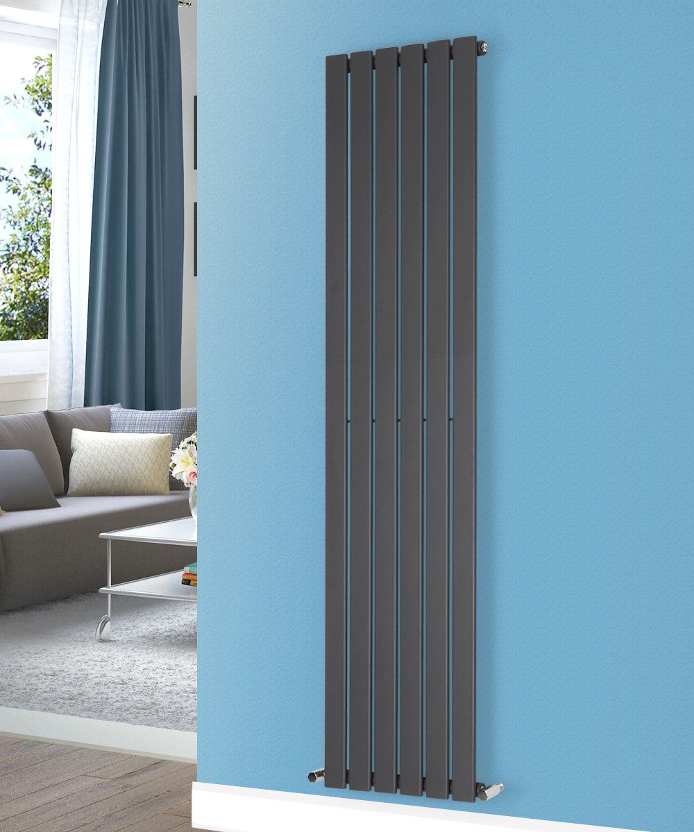 NRG 1600x408 Vertical Flat Panel Designer Radiators Central Heating ...
