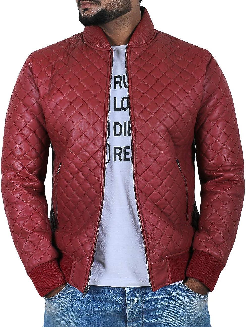 1801006 Black, Bomber Jacket Laverapelle Mens Genuine Lambskin Leather Jacket