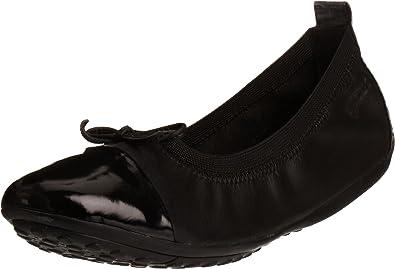 Surtido parrilla estante  Amazon.com   Geox Piuma Junior Girls Ballerina Shoes   Flats
