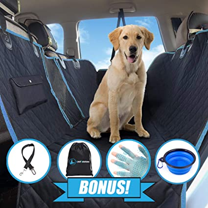 Best Car Seat 2020.Best Dog Seat Cover For 2020 Four Styles In One Waterproof Dog Car Hammock With Mesh Window And Side Flaps Heavy Duty And Nonslip Universal
