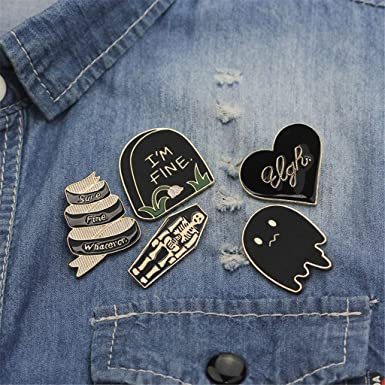 Amazon.com: Jonerytime❤️Las mujeres de moda Punk esmalte ...