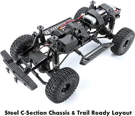 Carisma Escala Adventure Rock Crawler SCA-1E LYNX Orv RTR (base de rueda 285 mm)