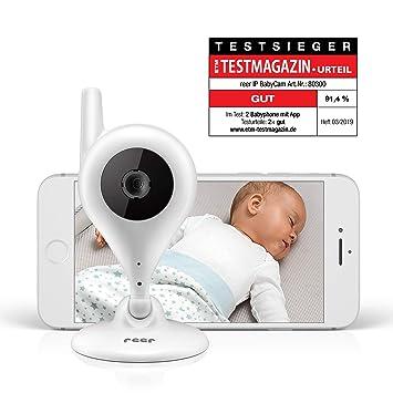 reer Video-Babyphone und IP Kamera BabyCam Steuerung per kostenloser App einfache Einrichtung