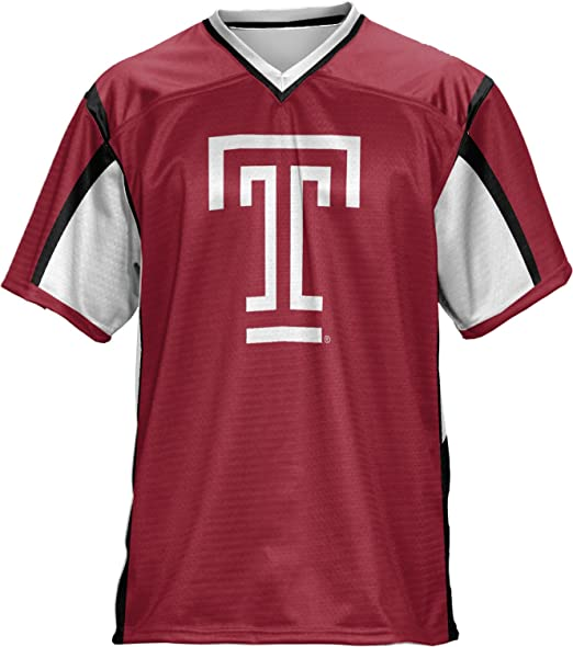 half off 06027 6cb4c Amazon.com: ProSphere Temple University Boys' Football ...