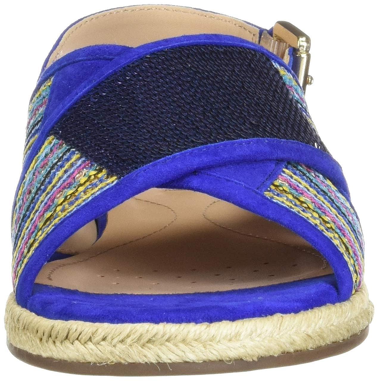 Geox kolleen sandalo donna traspirante stile etnico d925sc