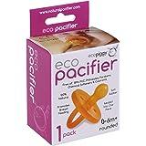 Ecopacifier Natural Rubber Pacifier Round 0-6m (1pk)