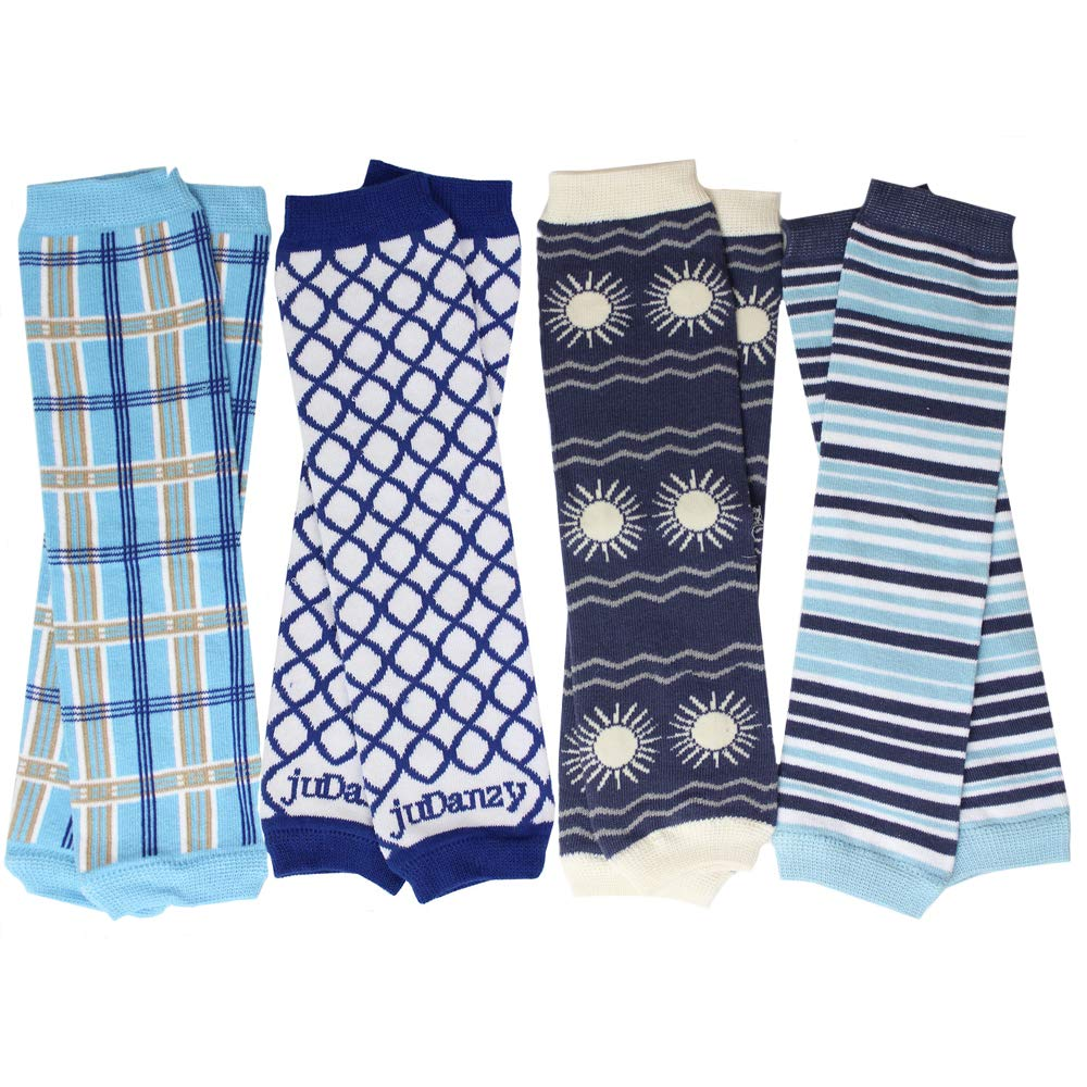 juDanzy Baby Boys Preppy 4 Pack of Leg Warmers by juDanzy