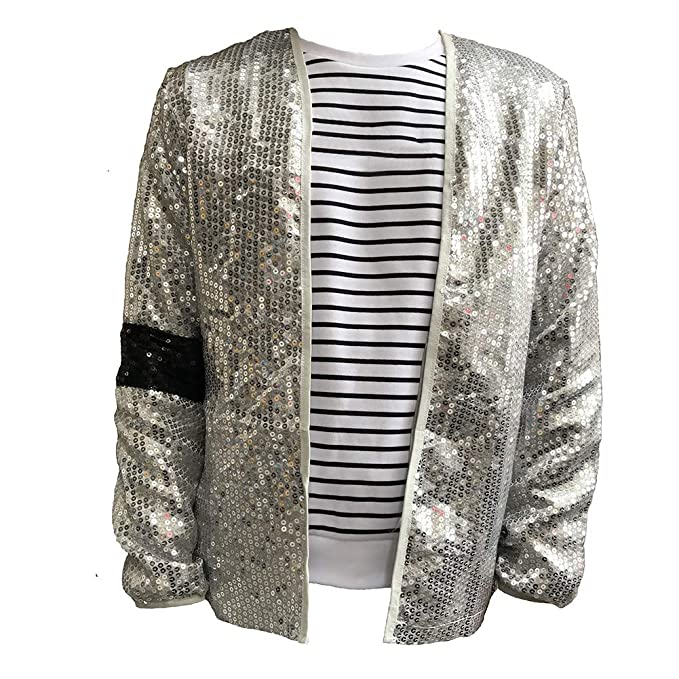 Amazon.com: Himart MJ Billie Jean - Chaqueta de cosplay ...