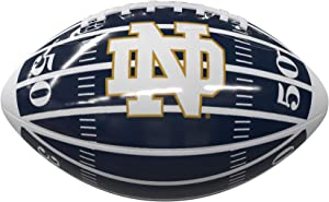 Logo Brands Officially Licensed NCAA Mini-Size Glossy Football, Team Color