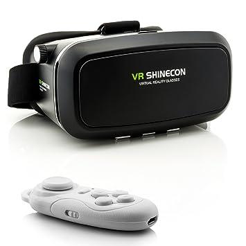Handys & Kommunikation 3d Vr Brille Virtual Reality Box Universal Bluetooth Für Android Iphone Samsung Sonstige