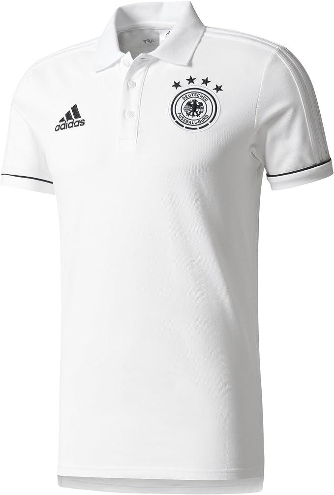 adidas DFB Play Polo Federación Alemana de Fútbol, Hombre, (Blanco ...