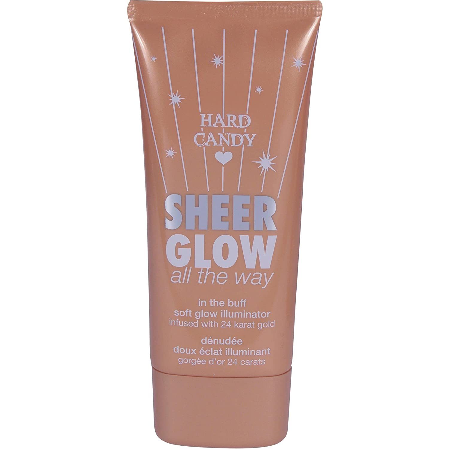 Hard Candy Sheer Glow All the Way Illuminator Infused with 24 Karat Gold #842 in the Buff 2.7 oz