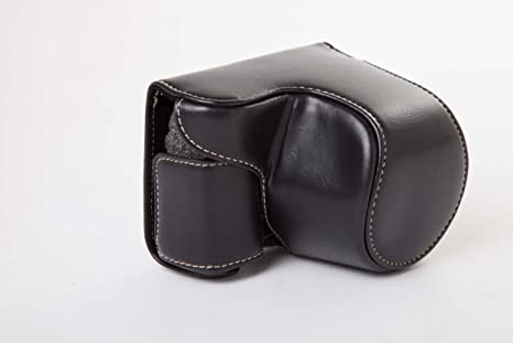 vhbw cámara-Bolsa Negro para cámara Sony Alpha 5000, 5100, A5000 ...