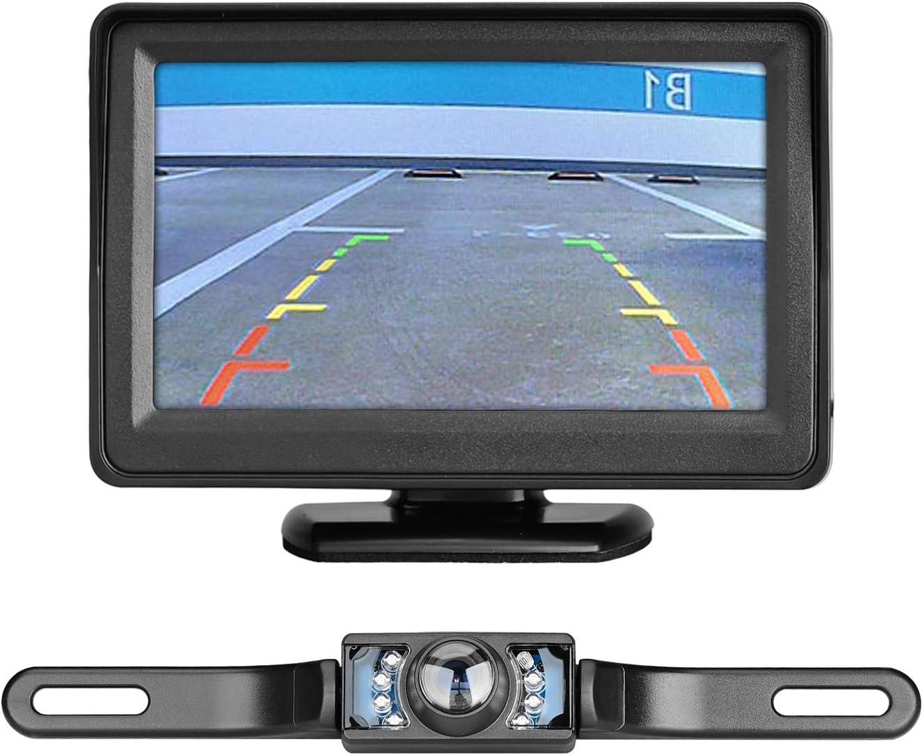 """Car SUV Rear View IR Night Vision Digital Camera+4.3/"""" TFT LCD HD Display Monitor"""