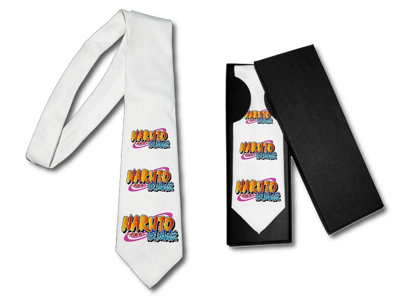 MERCHANDMANIA Corbata Elegante Logo Naruto SHIPUUDEN Shonen Suave ...