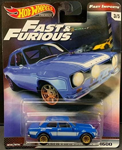 Hot Wheels Fast And Furious 2019 /'70 Ford Escort