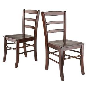 Winsome Wood 94232 Benjamin Seating Walnut