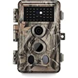 Meidase SL122 Pro Trail Camera 16MP 1080P Game Camera with Advanced H.264 Video and Enhanced Night Vision 0.2S Trigger Speed
