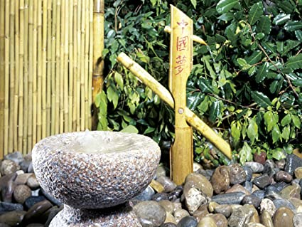 Shishi Odoshi Prezzo.Fontane In Bamboo Shishi Odoshi Amazon It Casa E Cucina