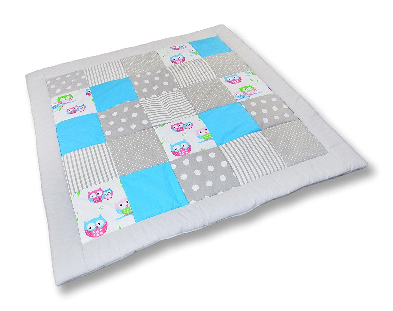 AMI Lian® Mantel Colcha parte para gatear (M029) Talla:105x105 cm Glocal Berlin